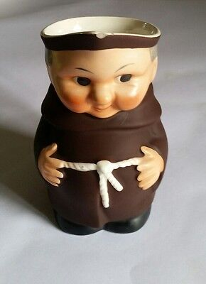 """Monk Character Toby Jug by Goebel - 6"""" tall"""