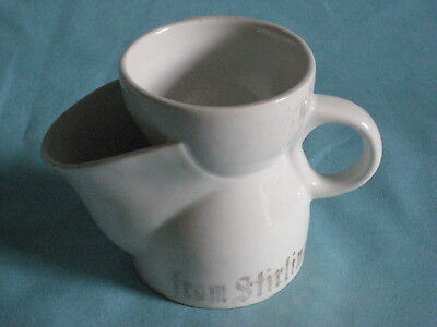 "German (3.9"" high) Giant Shaving Mug - 'From Stirling'"