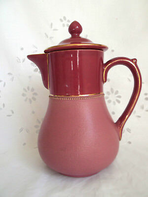 Lovatts Langley ware, Pink Coffee pot, Rare