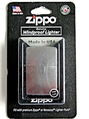 Zippo 207 Regular Street Chrome Lighter - NEW IN BOX.  Windproof
