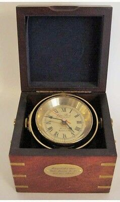 John Poole London No. 2  Marine Navy Deckwatch Chronometer Borduhr Quarz