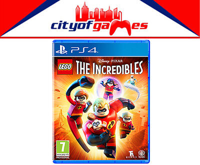 LEGO The Incredibles PS4 Game New & Sealed In Stock