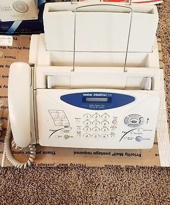 Brother IntelliFax 775, Plain Paper Fax, Phone & Copier