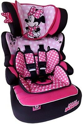 Disney MINNIE MOUSE Beline SP Luxe Group 1/2/3 9-36kg Car Seat Booster