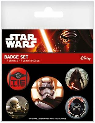 "Star Wars : Ansteck-Buttons - ""First Order"" 5er-Pack"