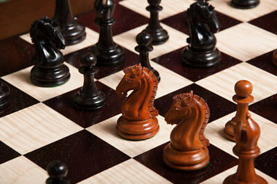 """Camaratta Signature Series Cooke Luxury Chess Set - Pieces Only - 3.65"""" King - P"""