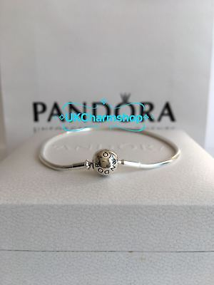 New Genuine PANDORA S925 ALE Silver Essence Bracelet With Gift Pouch