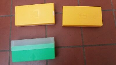Kodak Fuji Chrome 35mm Slide Storage Boxes x 3