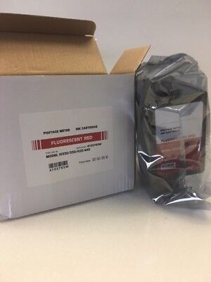 4155765W Neopost IS330/350/420/440 Postage Meter Fluorescent Red Ink Cartridge