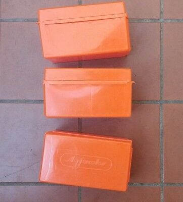 Agfacolor 35mm Slide Storage Boxes x 3
