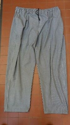 Global Chef Drawstring Pants Check Pattern  Size Xxxl