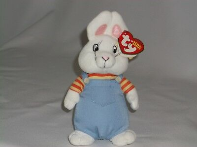 TY BEANIE BABY Babies 2009 MAX From Max   Ruby Easter Bunny Rabbit ... f9274ac062f