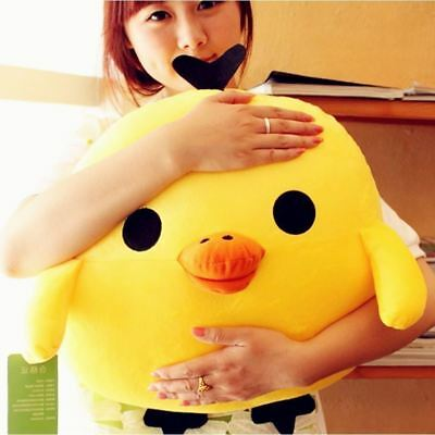 60CM Large Yellow Chicken Plush Big Cute Stuffed Soft Toy Giant Doll Pillow gift