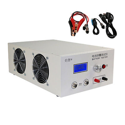 Lithium Lead-acid Battery Discharge Capacity Tester External Charger 12V-72V 20A