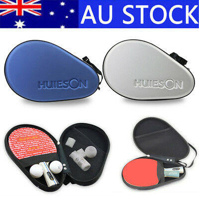 Ping Pong Paddle Set Table Tennis Bat With Racket Bag Cover Case Red Silver Best