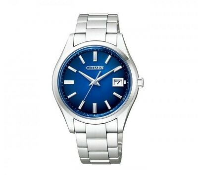 CITIZEN The CITIZEN AQ4000-51L Eco Drive Active Blue Dial Stainless Model (o410)