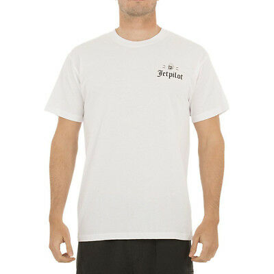 NEW Jetpilot Mx Hex White Motocross Premium Summer Tee
