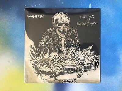 WEEZER Fake Smiles Nervous Laughter + WAVVES You Gave Your Love LIMITED VINYL 7""