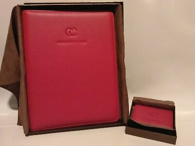 LEATHEROLOGY Standard Padfolio Red - FREE SHIPPING