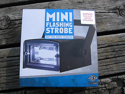 Turnup New in the Box Mini Flashing Strobe mounting Bracket Three Color Filters