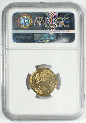 2012 Australian $2 Remembrance Day Poppy - Colorized  NGC MS66 RAM