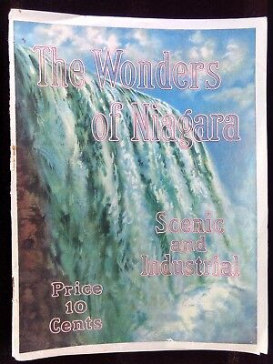 Wonders of Niagara Scenic & Industrial Photo Booklet Shredded Wheat Recipes VTG