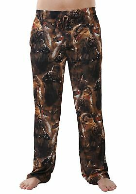 Star Wars Chewie chewbacca Faces Mens Lounge Pants pajamas