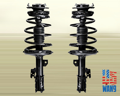 02-03 Toyota Camry ES300 Front Complete Shock Strut Coil Spring Assembly Pair
