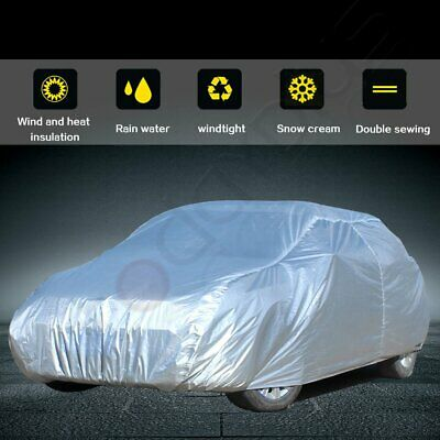 New Full Car Cover All Weather UV Waterproof Fits For 1990 1991-2005 Honda Civic