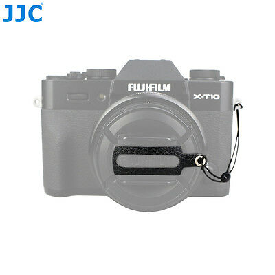 JJC Leather Stickup Lens Cap Keeper String Rope for Fujifilm FLCP-58mm lens Cap