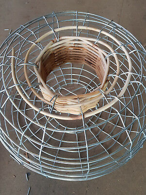 Cane neck and steel Lobster pot crayfish Trap