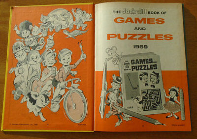 Jack and Jill Annual 1969, Comic book of games and puzzles