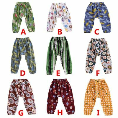 Kids Boy Girl Cotton Mosquito Pants Summer Thin Flying Squirrel Pants Trousers