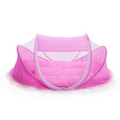4pcs/Set Portable Baby Comfortable Babies Caring Pad With Sealed Mosquito Net