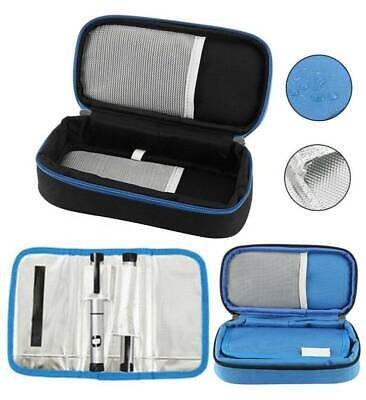 Diabetes Insulin Pen Case Cooler Pouch Travel Carry Cooling Protector 2 ice bags
