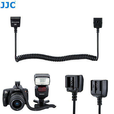 JJC Off Camera TTL Flash Extension Cord for Sony A900 A700 A300 A200 HVL-F58AM
