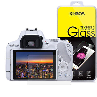 Khaos For Canon Eos 200D / KISS 9 / SL2 Tempered Glass Screen Protector