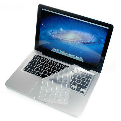 Silicone Thin Clear KeyBoard Cover Skin For MacBook für Old Macbook Pro 13 15 17