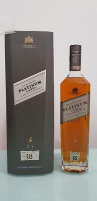 Johnnie Walker Platinum 18 YO  Bigger 750mL 40 % abv Gift Box discontinued