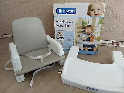 the first years Portable baby booster seat, good condition