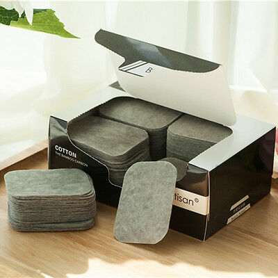 200pcs Cosmetic Cotton Pads Makeup Remover Polish Nail Facial Cleaner Puff
