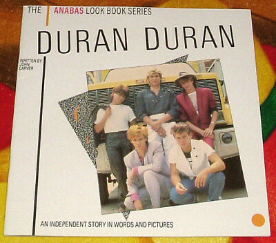"DURAN DURAN Anabas Look Book Rare UK 12""x 12"" Softcover Book. GIFT IDEA"
