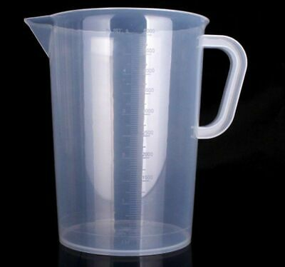 5000ml 5L Plastic Measuring Jug Liquid Nutrients Water Hydroponics Cooking