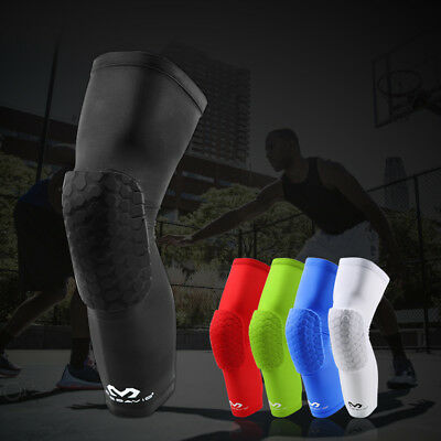 Logo Mcdavid Knee Pad Compression Extended Support Leg Sleeve Hexpad Protective