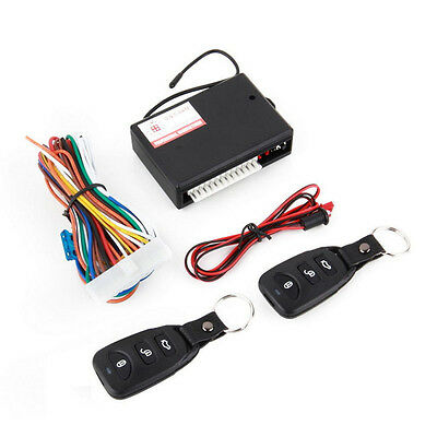 2017 New Universal Car Remote Central Kit Door Lock Vehicle Keyless Entry System