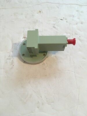 Waveguide to Coax 21847 Adapter 8.2-12.4 GHz SMA , WR-90 (cellar)
