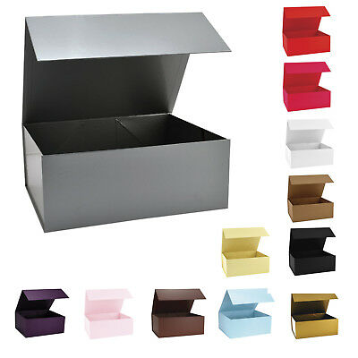 Large Magnetic Gift Boxes 12 Colours For Weddings, Favors, Xmas, Birthday