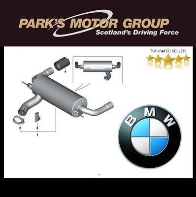 Genuine New M235i M Performance Exhaust with Carbon Tailpipes