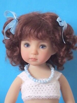 "Mohair doll wig for Little Darling doll 13"" Dianna Effner-7/8""(18/19cm)-FRANCE"