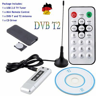 USB 2.0 DVB-T2/T DVB-C TV Tuner Stick USB Dongle for PC/Laptop Windows 7/8 S0